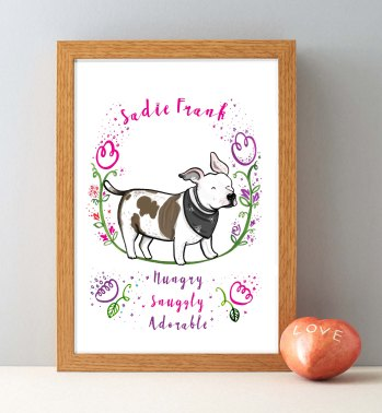 sadie-dog-framed