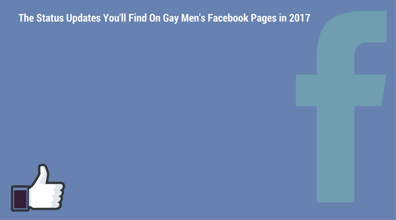 How to find gays on facebook